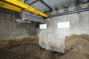 Im Raum Büelhof entsteht dereins ein Wärmeverbund mit einer Holzschnitzelheizung. (Bild: Ralph Ribi)