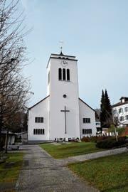 Die katholische Kirche Gähwil stammt aus den 1930er-Jahren. Sie hat für das Ortsbild eine grosse Bedeutung. (Bild: Urs M. Hemm)