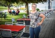 Isabella Szucher kann als Geschäftsführerin in der Seebad-Lounge bleiben. (Bild: Reto Martin)