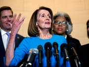 Die demokratische Fraktionschefin Nancy Pelosi soll künftig dem US-Repräsentantenhaus vorstehen. Sie tat das bereits einmal. (Bild: KEYSTONE/AP/CAROLYN KASTER)