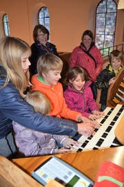 Die ersten Töne auf der Orgel sorgen für Stauen. (Bild: PD)