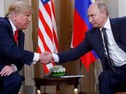 «Ich mag diese Aggression nicht», sagte US-Präsident Donald Trump mit Blick auf die neuen Vorfälle im Schwarzen Meer vor der Halbinsel Krim. Ein Treffen mit Wladimir Putin ist in Gefahr. (Bild: KEYSTONE/AP/PABLO MARTINEZ MONSIVAIS)