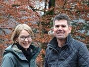 Das neue Führungsduo beim Amt für Wald und Wild: Priska Müller und Martin Ziegler. (Bild: PD)