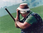 Trudi Hegglin führt ein einfaches Leben. Erich Langjahr hat sie für «Ex Voto» in ihrem Alltag begleitet. (Bild: PD)