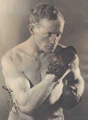 «Boxer Seppi», Anfang 1930er Jahre.