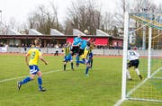 Der FC Rorschach-Goldach 17 ist neu auch neben dem Spielfeld im Sporttreff tonangebend. (Bild: Rudolf Hirtl, 2. April 2018)