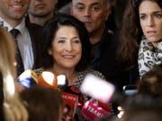 Salome Surabischwili wird die erste Präsidentin der ehemaligen Sowjetrepublik Georgien. (Foto: Shakh Aivazov/AP) (Bild: KEYSTONE/AP/SHAKH AIVAZOV)