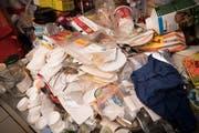 Wenn das Chaos regiert: Blick in eine Messie-Wohnung. (Bild: Raph Ribi)