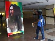 Reggae und damit die Musik von Bob Marley ist neu Bestandteil des Immatriellen Kulturerbes der Menschheit. (Bild: KEYSTONE/EPA/LEGNAN KOULA)