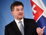 Weil Parlament und Regierung der Slowakei dem Uno-Migrationspakt eine Absage erteilten, ist der parteilose Aussenminister Miroslav Lajcak aus Protest zurückgetreten. (Bild: KEYSTONE/EPA/HAYOUNG JEON)