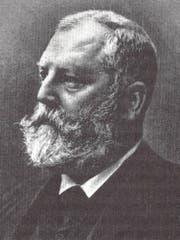 Emil Frey war von 1890 bis 1897 Bundesrat. (Bild: Wikipedia)