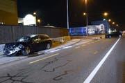 Wo sich der Unfall ereignete: Die Einmündung auf die Langnauerstrasse. (Bild: Luzerner Polizei (Dagmersellen, 29. November 2018))