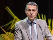 Aussenminister Ignazio Cassis will die Entwicklungszusammenarbeit neu ausrichten. (Bild: KEYSTONE/ALESSANDRO DELLA VALLE)