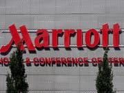 Die Online-Plattform der US-Hotelkette Marriott ist gehackt worden - möglicherweise sind Daten von etwa einer halben Milliarde Kunden betroffen. (Bild: KEYSTONE/EPA/MAURITZ ANTIN)