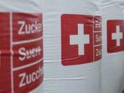 Die rund 195'000 Tonnen Schweizer Zucker sind zu wenig, um die Nachfrage zu decken. (Bild: Keystone/PETER SCHNEIDER)