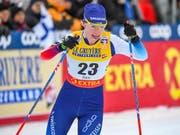 Nadine Fähndrich war im Sprint die beste Schweizerin (Bild: KEYSTONE/EPA COMPIC/KIMMO BRANDT)