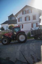 Das Haus an der Dorfstrasse 34 hätte der Gemeinderat kaufen wollen. (Bild: Benjamin Manser, 4. Oktober 2018)
