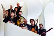 Klarinettist Marco Santilli (rechts) bringt mediterrane Leichtigkeit ins Theater Uri. (Bild: PD)