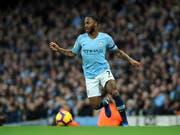 Raheem Sterling und Manchester City überforderten Southampton (Bild: KEYSTONE/AP/RUI VIEIRA)