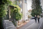 Das Restaurant Wienerberg bei der HSG. Das Pächterehepaar wirft den Bettel hin.