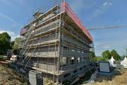 Am Beratungszentrum auf dem Arenenberg wurde 2014 viel Holz verbaut. (Bild: Reto Martin)