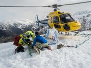 Because of the weather, the number of mountain deaths has increased sharply in the current year. (Image: KEYSTONE / FRANCESCA AGOSTA)