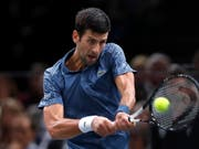 Darf sich trotz Finalniederlage in Paris-Bercy freuen: Tennis-Star Novak Djokovic (Bild: KEYSTONE/EPA/IAN LANGSDON)