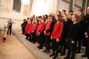 Zusammen mit der Singbox Wil brachte der Kammerchor den «Wiler Sunntig» von Wolfgang Sieber zur Uraufführung. (Bilder: Christof Lampart)