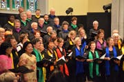 Der Chor der Nationen Luzern. (Bild: PD)