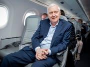 Investor Martin Ebner zieht sich von der Führungsspitze der BZ Bank zurück. (Bild: KEYSTONE/MELANIE DUCHENE)