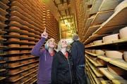 Die Käserei Linden öffnete bereits 2013 am Tag der offenen Käsekeller den Betrieb. (Bild: Ralph Ribi)