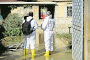 In diesem Haus in Casteldaccia kamen bei Überschwemmungen neun Menschen ums Leben. Bild: Guglielmo Magiapane/Reuters (4.November 2018)