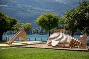 Am Walensee hat am 2. Juli der grösste Themenspielplatz der Schweiz eröffnet. (Bild Mareycke Frehner)