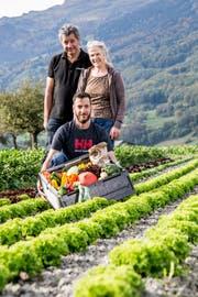 Seit vergangenem Frühling bietet die Familie Seifert vom Böschnihof in Sevelen die Saisonbox an.