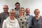 Der Vorstand (von links): Werner Dreyer, Connie Sullivan, Severin Dillier, Ramona von Deschwanden-Spichtig, Hans Vogler und Monika Birrer-Degelo. (Bild: PD)