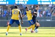 Gegen die Colorado Rapids spielte François Affolter (blaues Dress) durch. Die Partie endete 0:0. (Bild: Maciek Gudrymowicz/freshfocus (San José, 21. Oktober 2018))