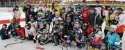 Nationalliga-Cracks trainierten in Widnau mit Buben und Mädchen. (Bild: smr)