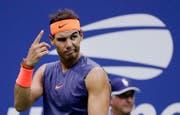 Im US-Open-Halbfinal musste Nadal gegen Juan Martin Del Potro verletzungsbedingt aufgeben. (Bild: Seth Wenig/AP (New York, 7. September 2018))