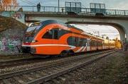 Ein Stadler-Triebzug des Typs Flirt, wie er in Estland im Einsatz steht und ins Nachbarland Lettland nie geliefert worden ist. (Bild: PD)