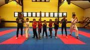 Die Flüchtlingskinder sind begeistert bei ihrem Training dabei. (Bild: PD)
