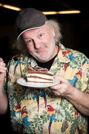 Peach Weber bei einem Besuch im Säntispark 2015. Er ist einer der bekanntesten Komiker der Schweiz. (Bild: Mareycke Frehner)