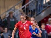 Auch Malin Gut steht dem Schweizer Nationalteam im Playoff-Hinspiel gegen die Niederlande nicht zur Verfügung (Bild: KEYSTONE/URS FLUEELER)