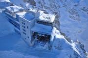 Die heutige Bergstation auf dem Titlis-Gipfel. (Bild: PD)
