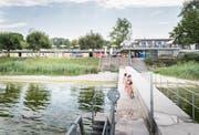 Das Strandbad steht auch umliegenden Gemeinden zur Verfügung. Bild: Andrea Stalder