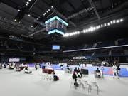 In Madrid werden derzeit die Karate-Weltmeisterschaften ausgetragen (Bild: KEYSTONE/EPA EFE/VICTOR LERENA)