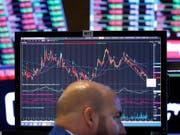 Die Ergebnisse der US-Zwischenwahlen werden am Schweizer Aktienmarkt im frühen Handel gut aufgenommen. (Bild: KEYSTONE/AP/RICHARD DREW)