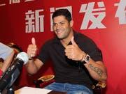 Der frühere brasilianische Internationale Hulk wechselte im Sommer 2016 nach China (Bild: KEYSTONE/AP COLOR CHINA PHOTO)