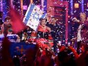 Netta Barzilai aus Israel hatte mit ihrem Song «Toy» den letzten Eurovision Song Contest (ESC) in Portugal gewonnen. Am nächsten ESC in Israel werden über 40 Länder teilnehmen - trotz Boykottaufrufen. (Bild: KEYSTONE/AP/ARMANDO FRANCA)