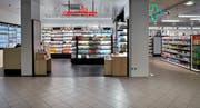 Shop-in-Shop-Apotheke der Zur Rose in Bern. (Bild: PD)