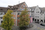 Wer wird nach Müller ins Rorschacher Rathaus einziehen? Bis im März können sich Kandidaten bei der Stadtkanzlei melden. (Bild: Vivien Huber)